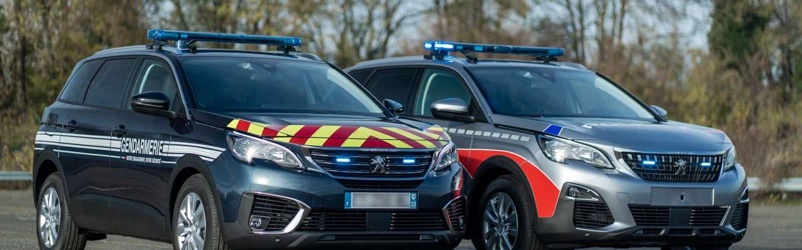 Peugeot 5008 police gendarmerie 16