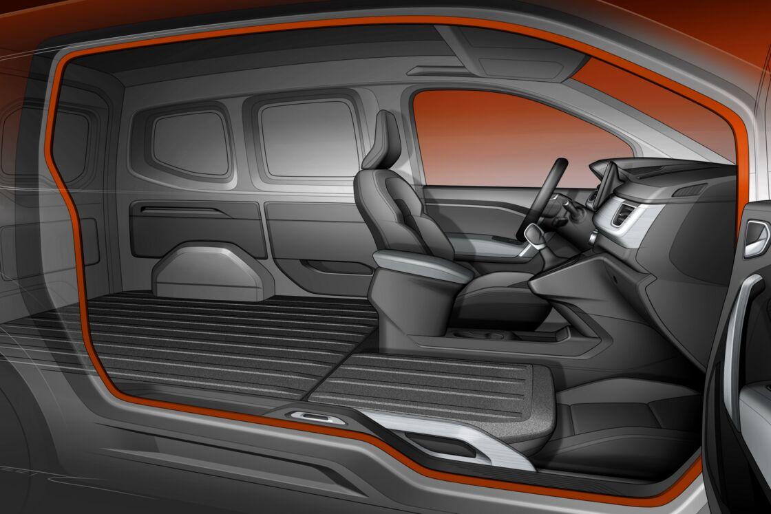 Renault Kangoo Van Easy Side Access