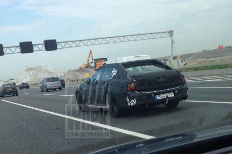 Volvo S90 2015 scoop