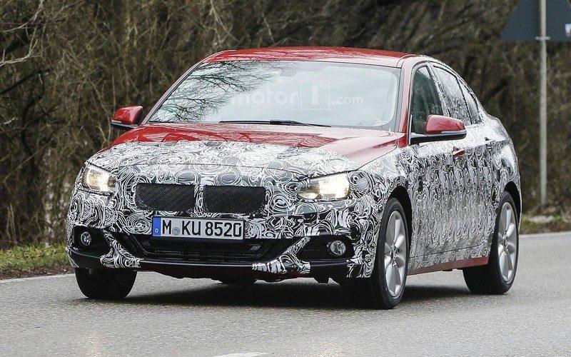spyshots BMW Serie 1 Sedan 2016