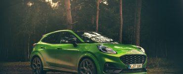 Essai Ford Pumat ST 200ch BV6 Green Mean Face avant 2