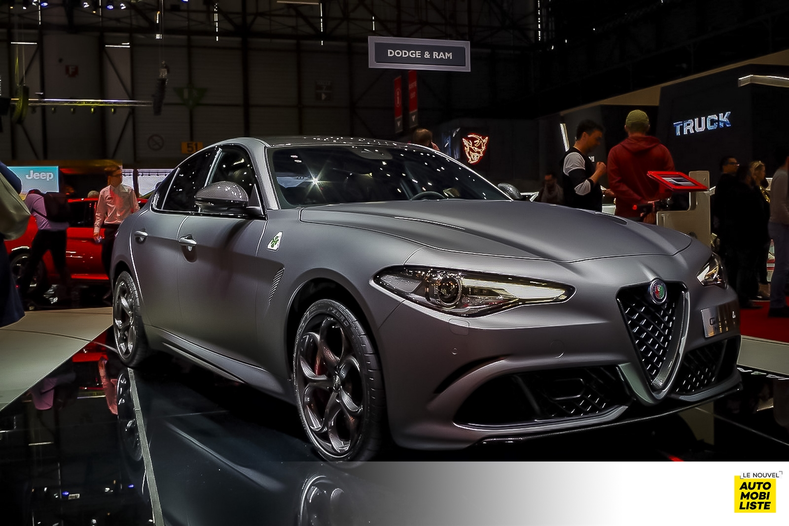 Geneve 2018 Alfa Romeo LeNouvelAutomobilisteG 17