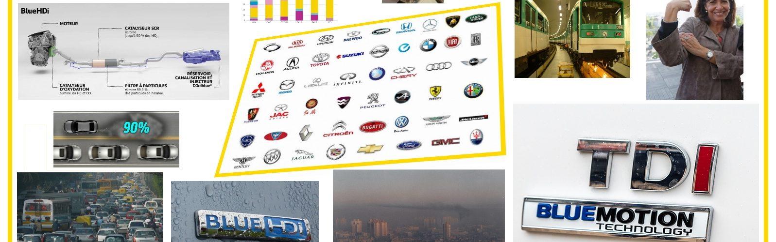 Pollution automobile baisse de la pollution automobile