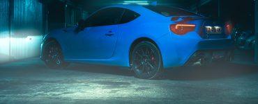 Essai Toyota GT86 D 4S Racing Blue Edition Vue arriere