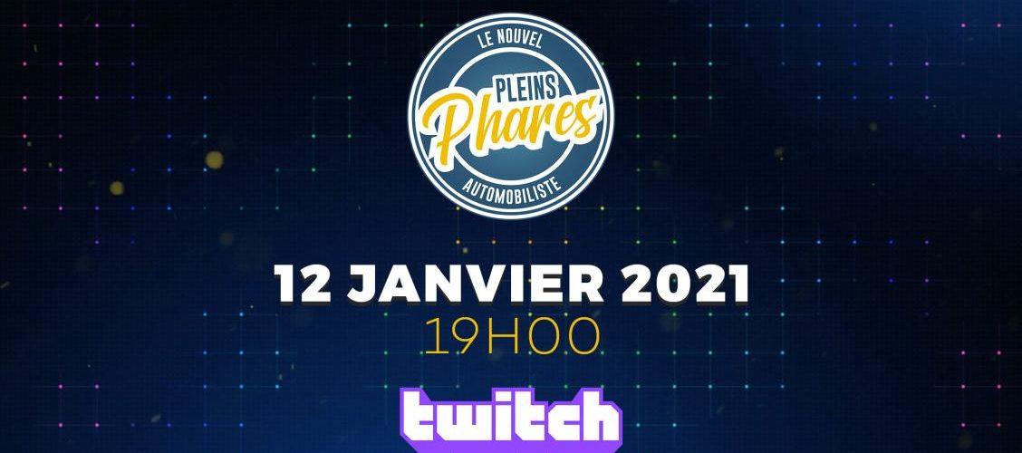 Twitch Le Nouvel Automobiliste Pleins Phares émission talk-show