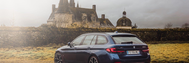 Essai BMW Serie 5 Touring Titre