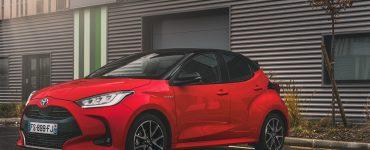 Essai Toyota Yaris La Premiere Edition Hybride Face Avant