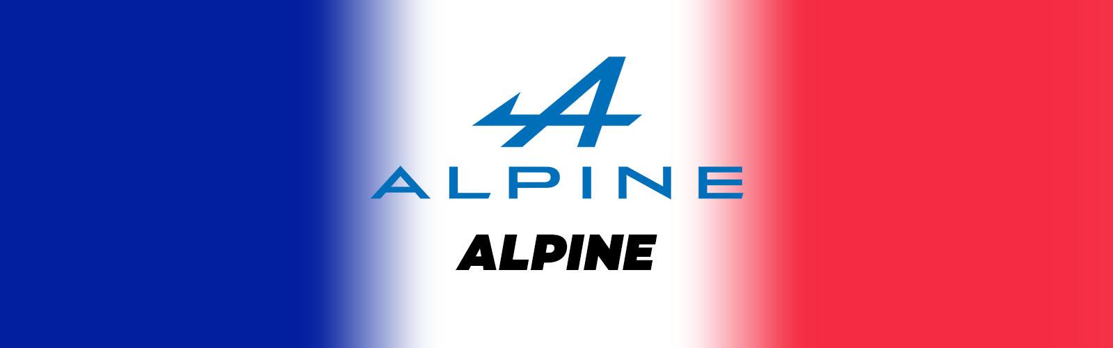 alpine constructeur