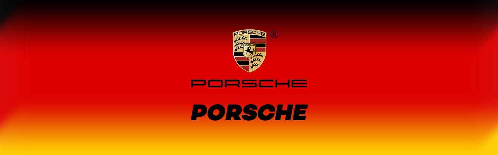 porsche logo marque