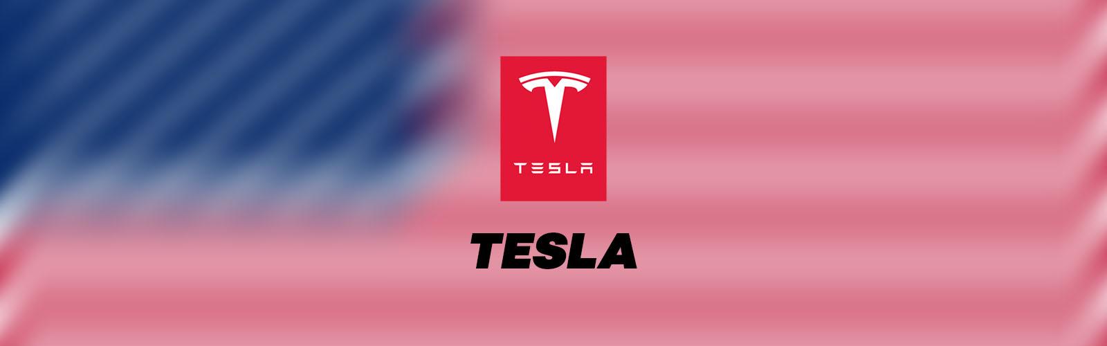 Tesla logo marque