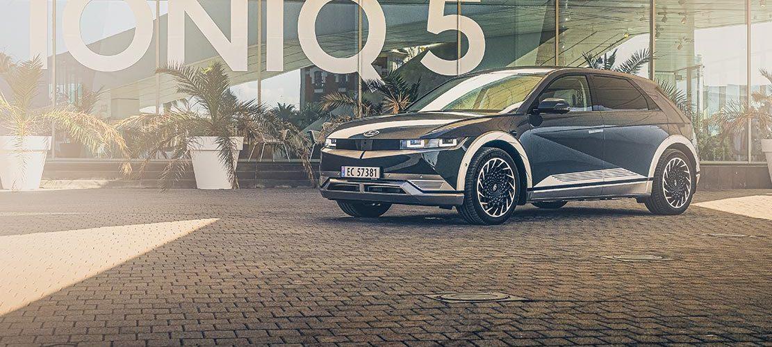 Essai Hyundai Ioniq 5 HTRAC Executive 73kW Digital Teal Green - Reveal et essai