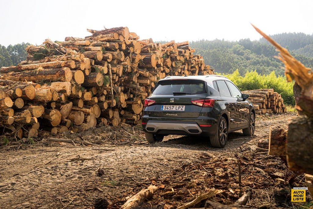 Essai Seat Arona restyle TSI 110ch DSG 7 Bi ton Gris Camouflage