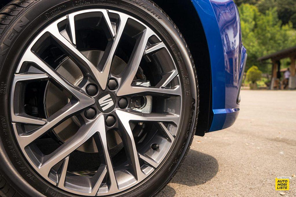 Essai Seat Ibiza restyle XPerience TSI 110ch BVM6 Bleu Jantes