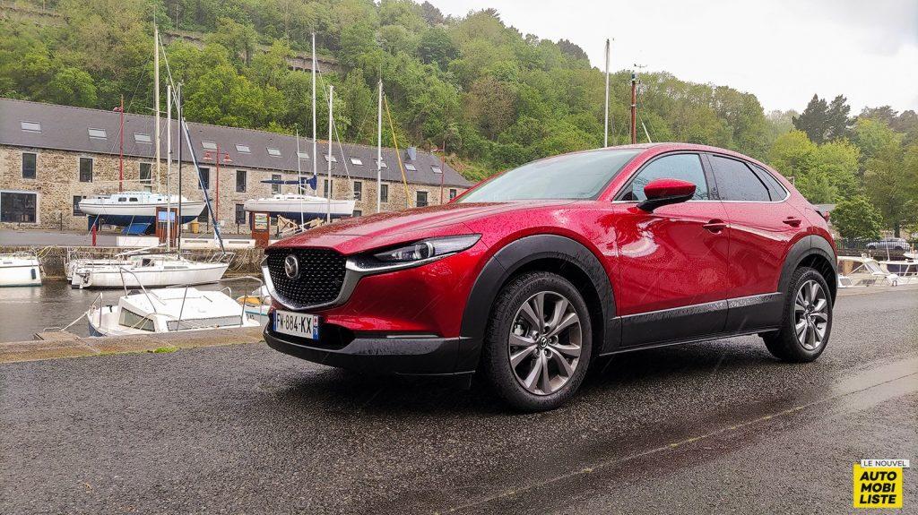 Essai Mazda CX-30 e-Skyactiv X Soul Red Sportline