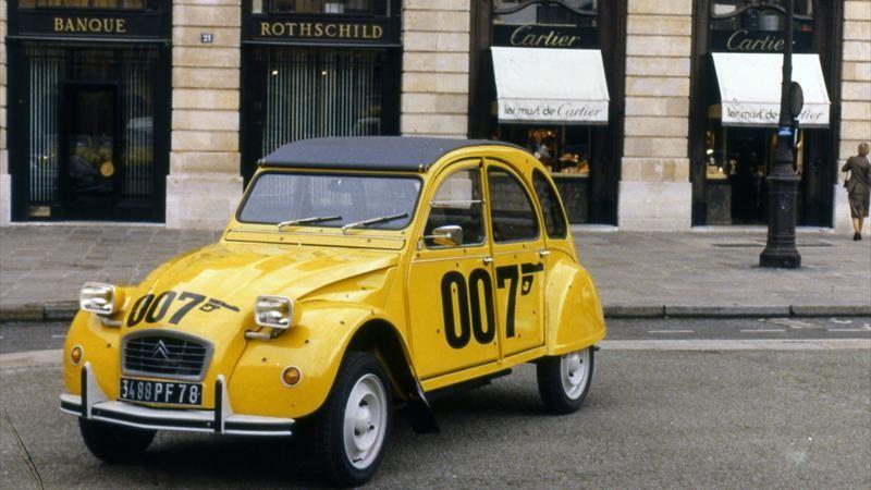 Citroën 2CV 007 James Bond 40 ans Rien Que Pour Vos Yeux