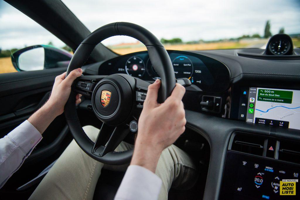 Porsche Taycan Turbo essai 2020 11