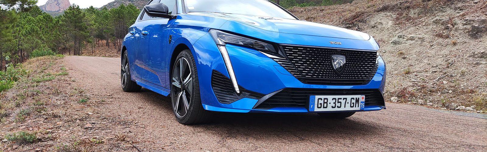 Essai nouvelle Peugeot 308 2021 hybride rechargeable 225 GT