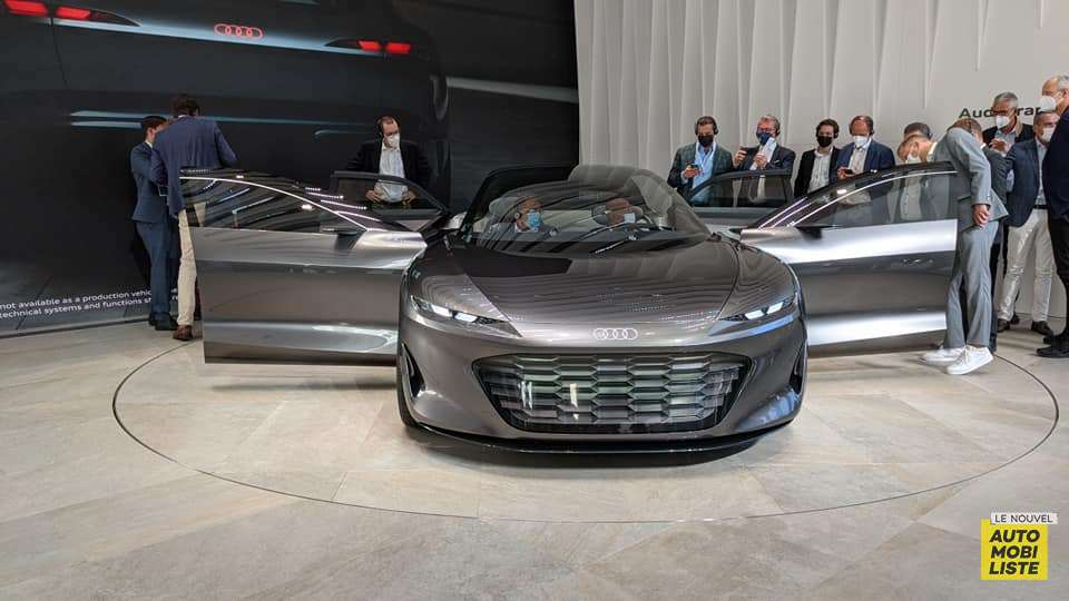 Audi Grandsphere Concept Salon de Munich 2021