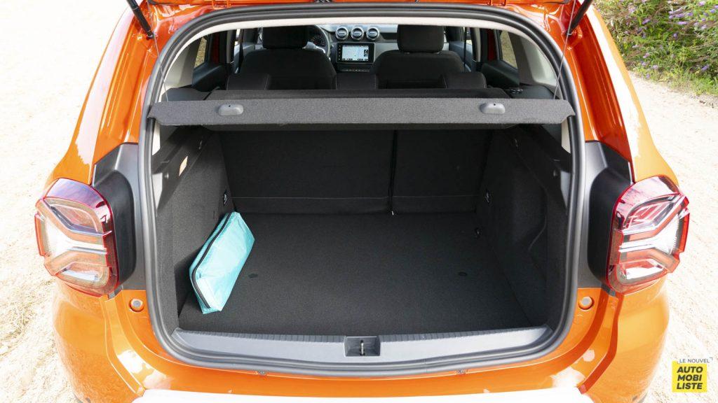 Essai Dacia Duster TCe 150 EDC6 Prestige Coffre 02