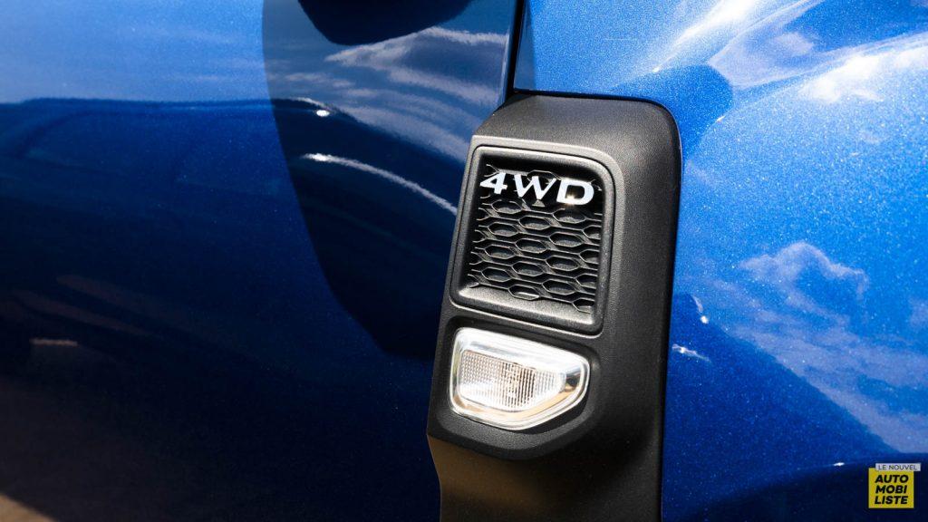 Essai Dacia Duster blue dCi 115 4x4 Exterieur Detail 01
