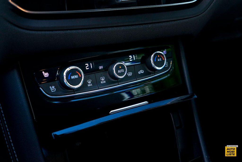 Essai Opel Grandland restyle Hybrid 225 Climatisation Bi Zone