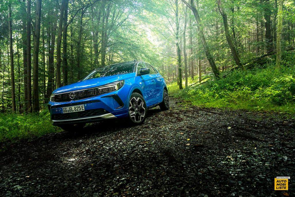Essai Opel Grandland restyle Hybrid 225