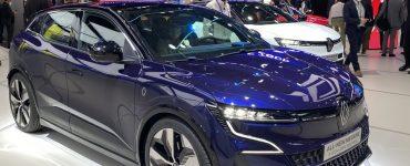 Renault Megane E-Tech électrique Salon de Munich 2021