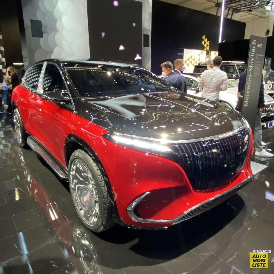 Mercedes Maybach EQS SUV Concept Salon de Munich 2021
