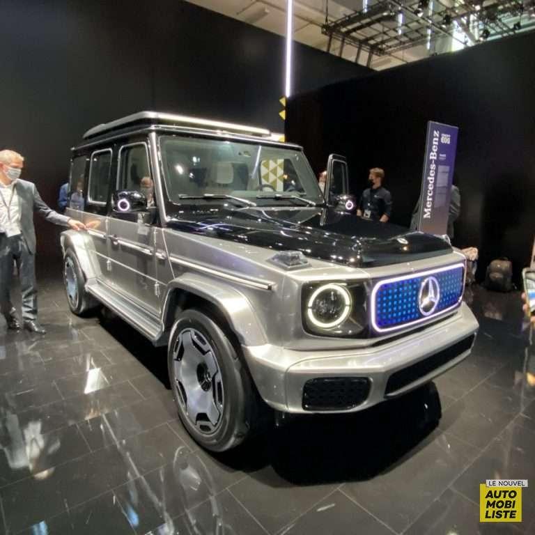 Mercedes EQG Concept Salon de Munich 2021
