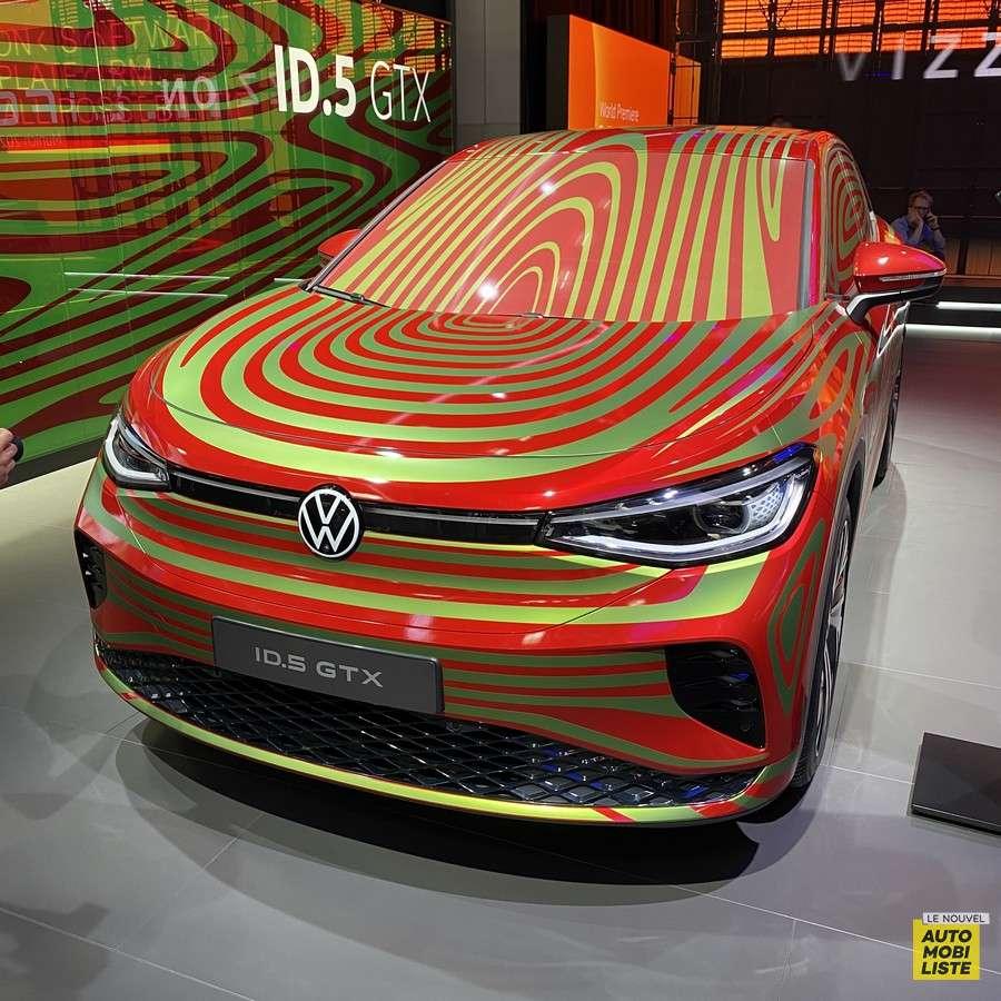 Volkswagen ID.5 GTX Salon de Munich 2021