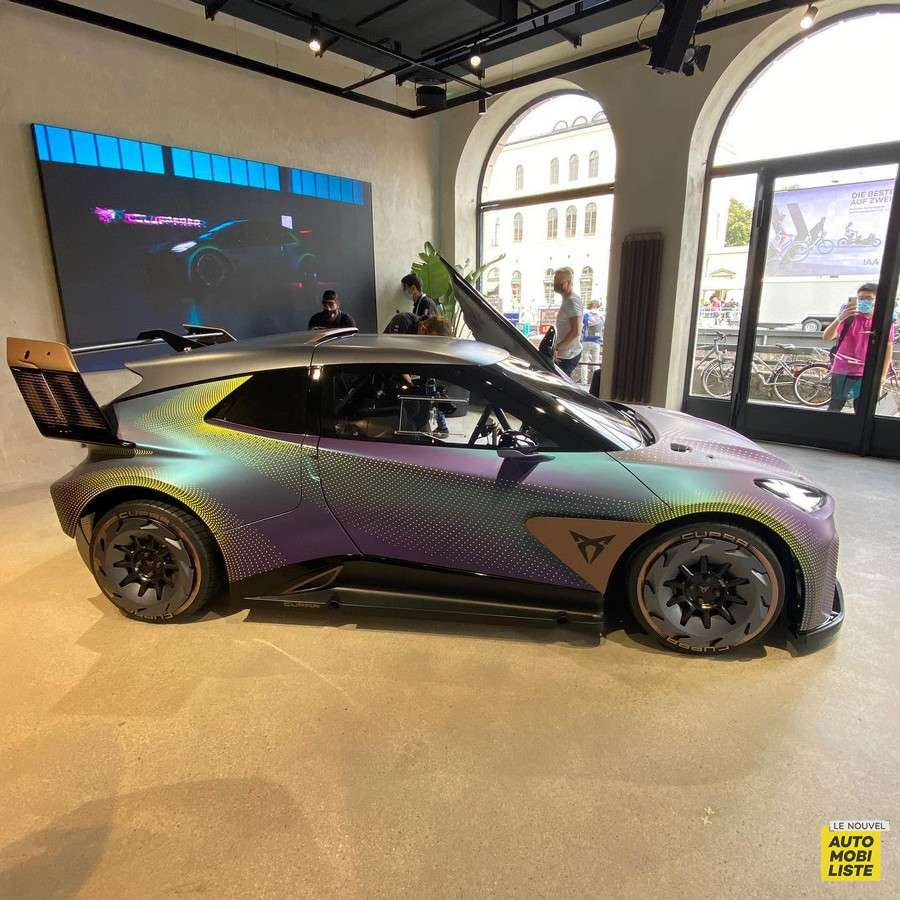 Cupra UrbanRebel Concept Salon de Munich 2021