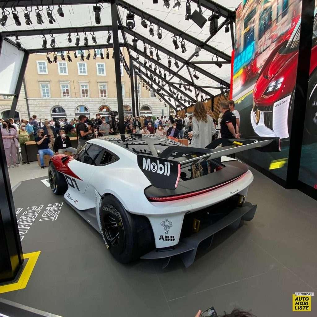 Porsche Mission R Concept Salon de Munich 2021
